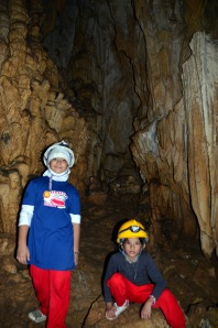 my young spelunkers!